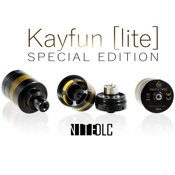 Kayfun [lite] Special Edition by SvoëMesto 22mm / High Noon,22mm / Moonlight,22mm / Nite DLC,24mm / High Noon,24mm / Moonlight,24mm / Nite DLC