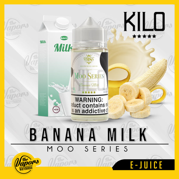 Kilo Moo Series - Banana Milk 100ml / 3mg