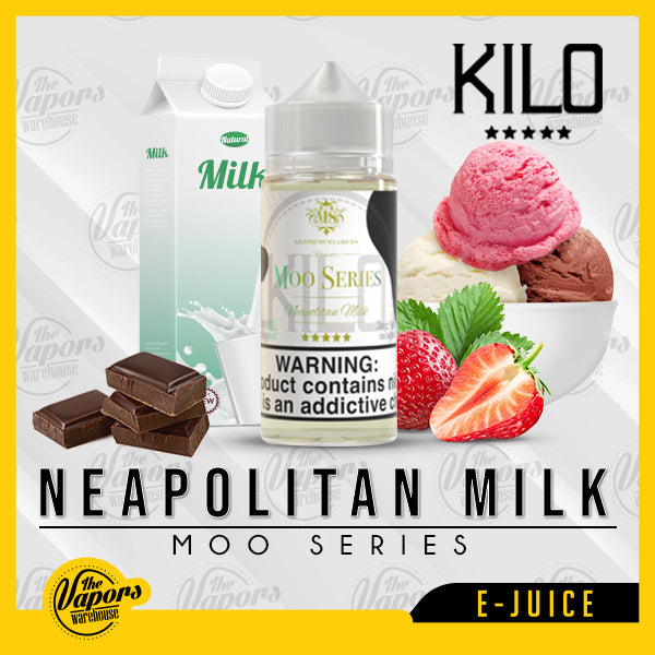 Kilo Moo Series - Neapolitan Milk 60ml / 3mg