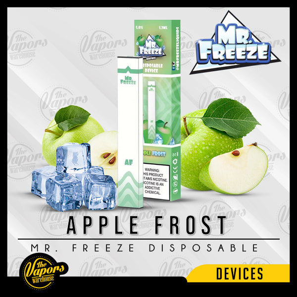 Mr. Freeze Disposable Pod Vape Device Apple Frost