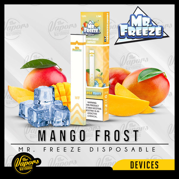 Mr. Freeze Disposable Pod Vape Device Mango Frost