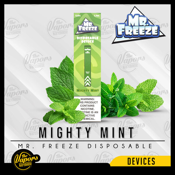 Mr. Freeze Disposable Pod Vape Device Mighty Mint
