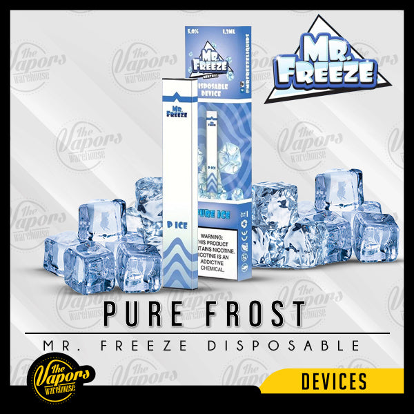 Mr. Freeze Disposable Pod Vape Device Pure Frost