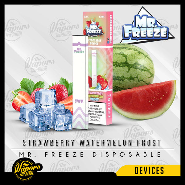 Mr. Freeze Disposable Pod Vape Device Strawberry Watermelon Frost