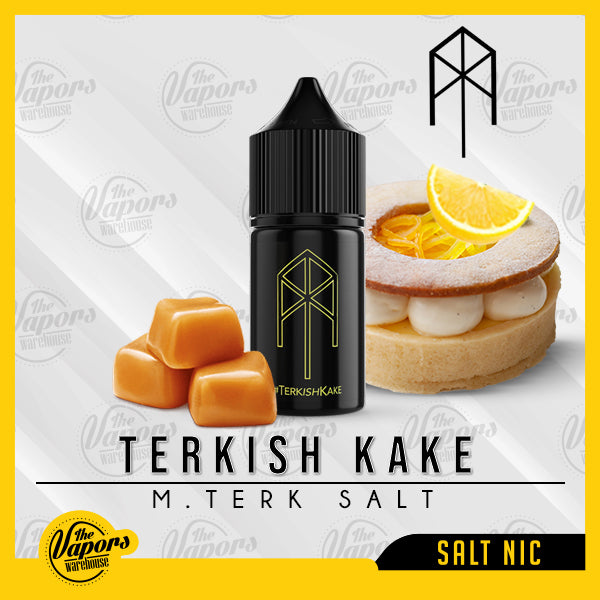 M.Terk Salt - TERKISH KAKE 30ml / 20mg,30ml / 35mg