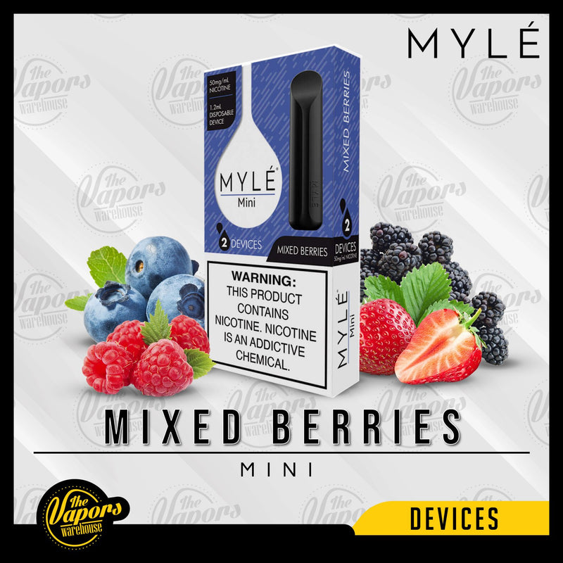 Myle Mini Disposable Device Mixed Berries