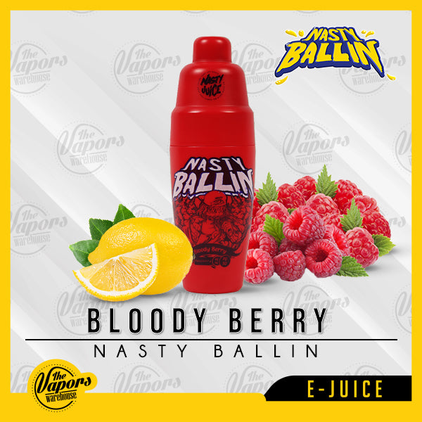 Nasty Ballin – Bloody Berry 60ml / 3mg