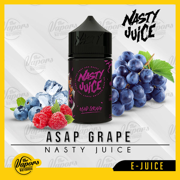Nasty Juice - ASAP GRAPE (purple) 60ml / 3mg