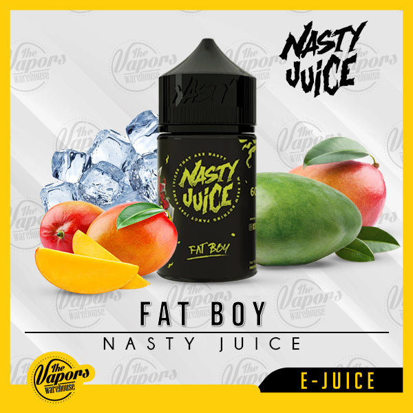 Nasty Juice - Fat Boy (Yellow) 60ml / 3mg
