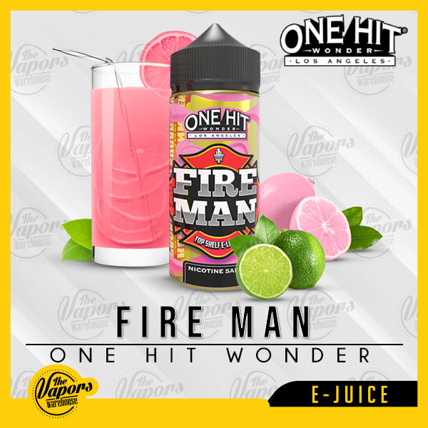 ONE HIT WONDER ELIQUID - Fire Man 100ml / 3mg,100ml / 6mg