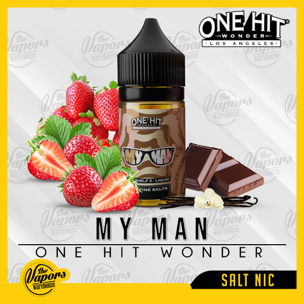 One Hit Wonder Salt Nic - My Man - 30ml 30ml / 25mg,30ml / 50mg