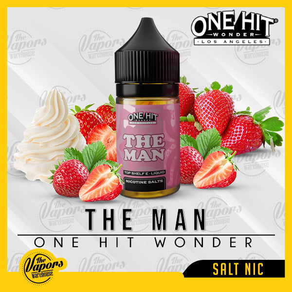 One Hit Wonder Salt Nic - The Man - 30ml 30ml / 25mg,30ml / 50mg