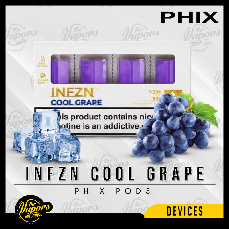 PHIX Pods Pack (4 Pods) Infzn Cool Grape