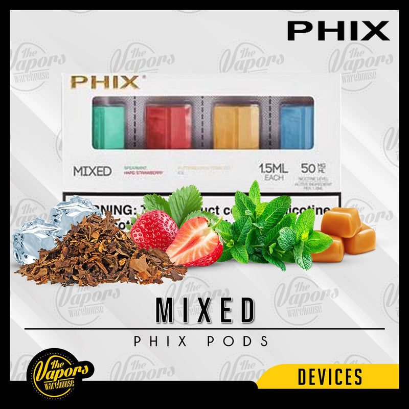 PHIX Pods Pack (4 Pods) Mixed