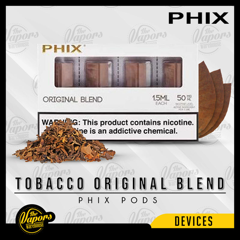 PHIX Pods Pack (4 Pods) Tobacco Original Blend
