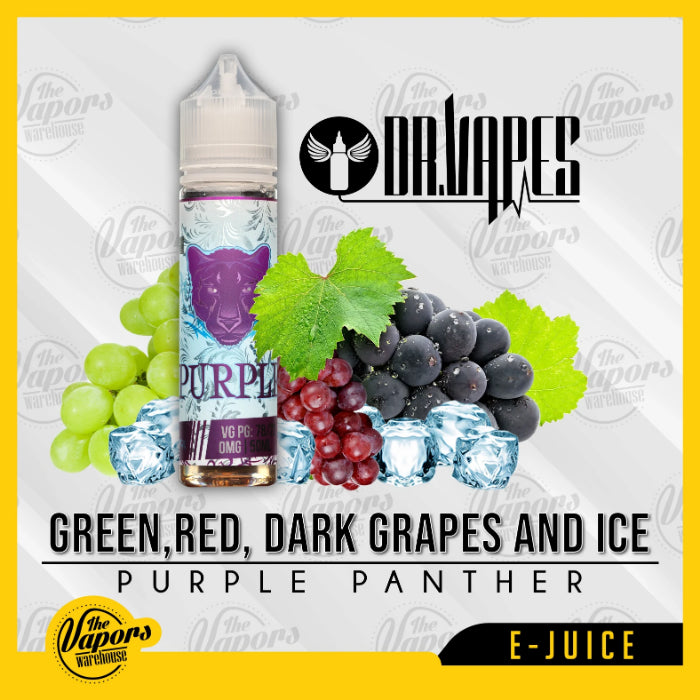 dr vapes purple panther iced