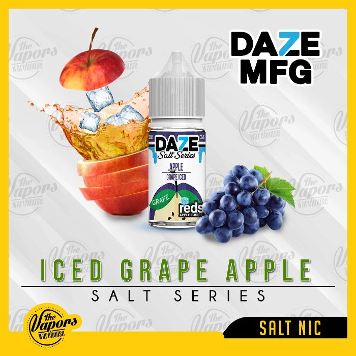 REDS SALT SERIES - GRAPE ICED