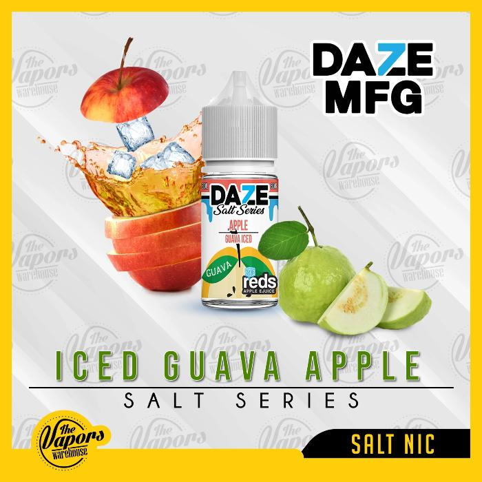 REDS SALT SERIES   ICED GUAVA