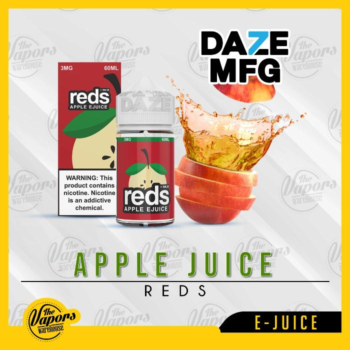 Red's Apple E Juice by 7 Daze 60mL