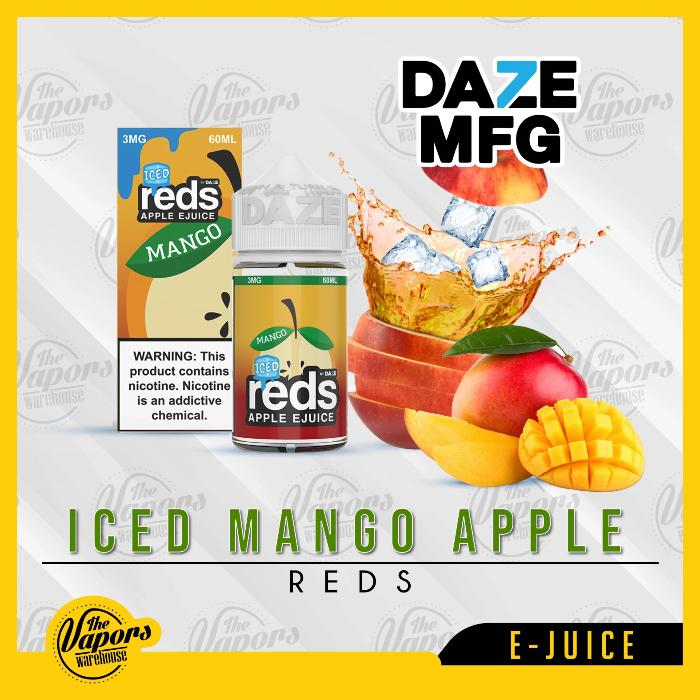 Mango Ice Red's Apple E-Juice by 7 Daze 60mL
