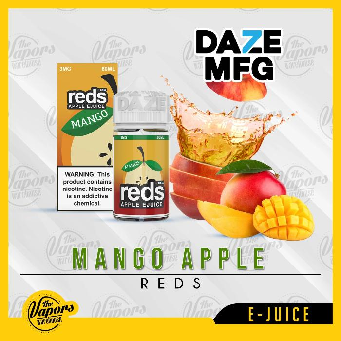 Mango Red's Apple E-Juice by 7 Daze 60mL