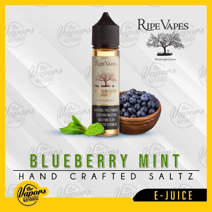 Ripe Vapes   Blueberry Mint
