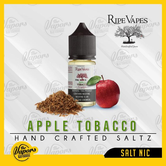 Ripe Vapes saltz   Apple Tobacco
