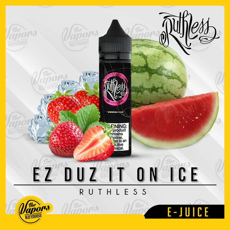 Ruthless Vapor - Ez Duz It on Ice 50ml (UAE Version) / 3mg,60ml / 6mg