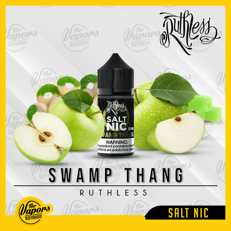 Swamp Thang - Salt Nic by Ruthless Vapor 35mg,50mg
