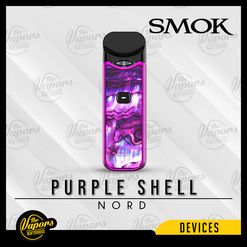 SMOK NORD 15W ULTRA PORTABLE POD KIT Purple Shell