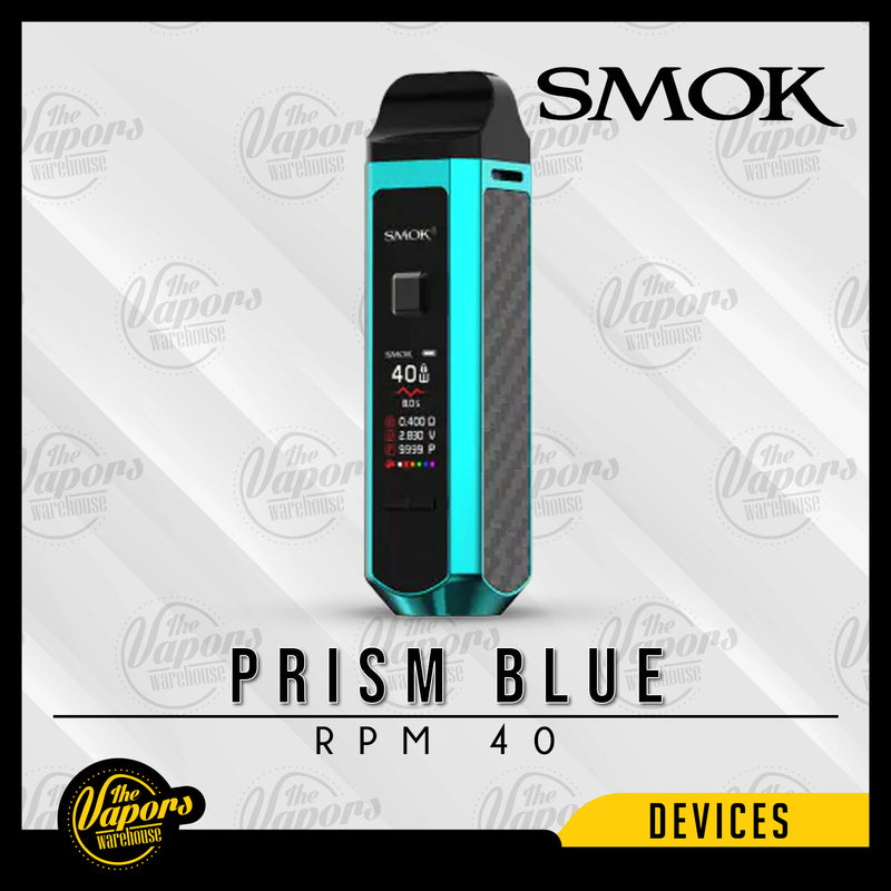 SMOK RPM 40 POD MOD KIT Prism Blue