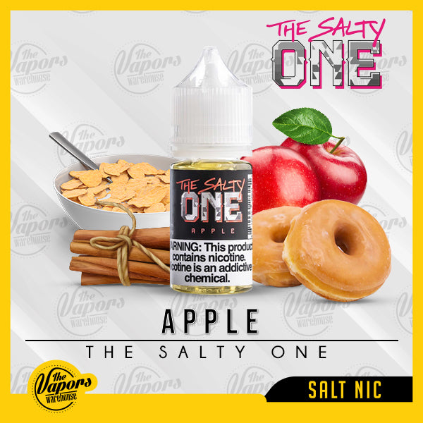 THE SALTY ONE APPLE 30ml / 30mg,30ml / 50mg