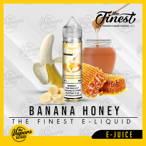 the finest e liquid banana honey