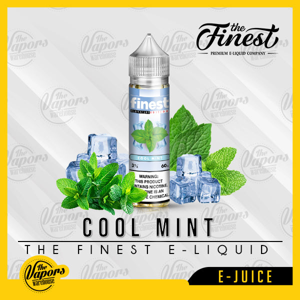 the finest e liquid cool mint