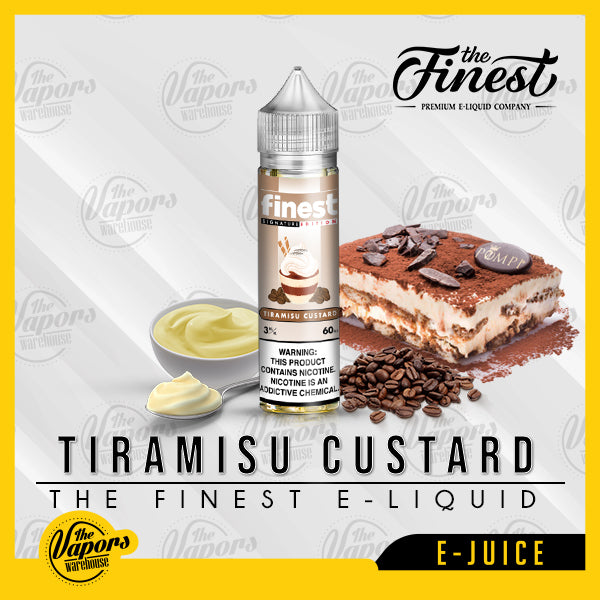 the finest e liquid tiramisu custard