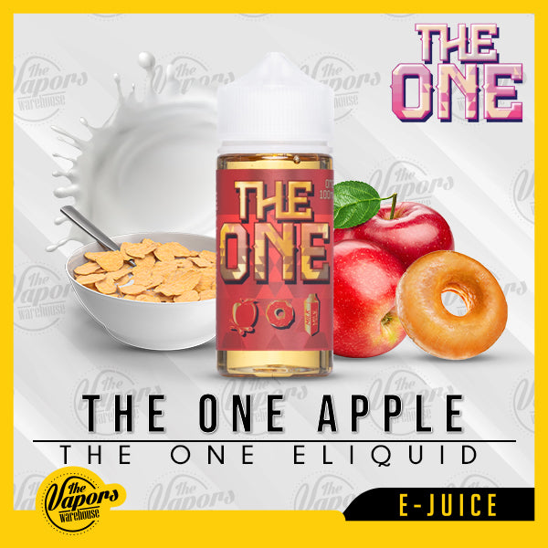 The One Apple by Beard Vape Co Eliquid 100ml 100ml / 3mg