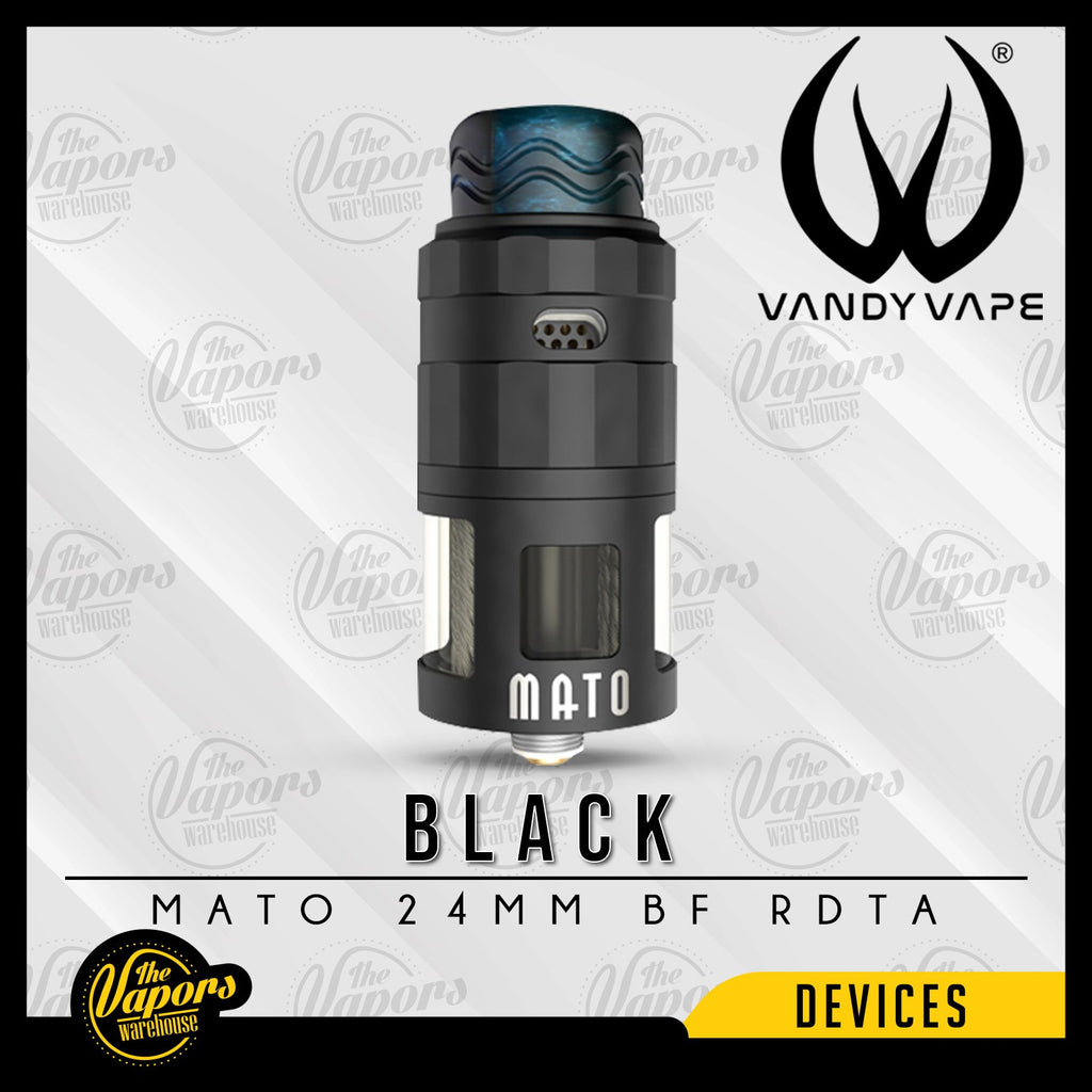 VANDY VAPE MATO 24MM BF RDTA Black