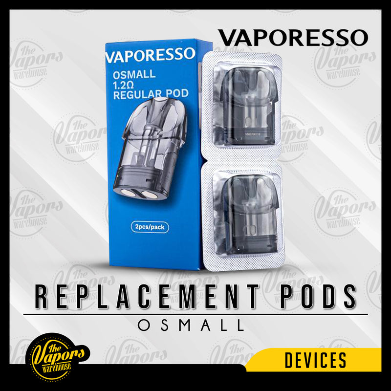 VAPORESSO OSMALL REPLACEMENT PODS Default Title