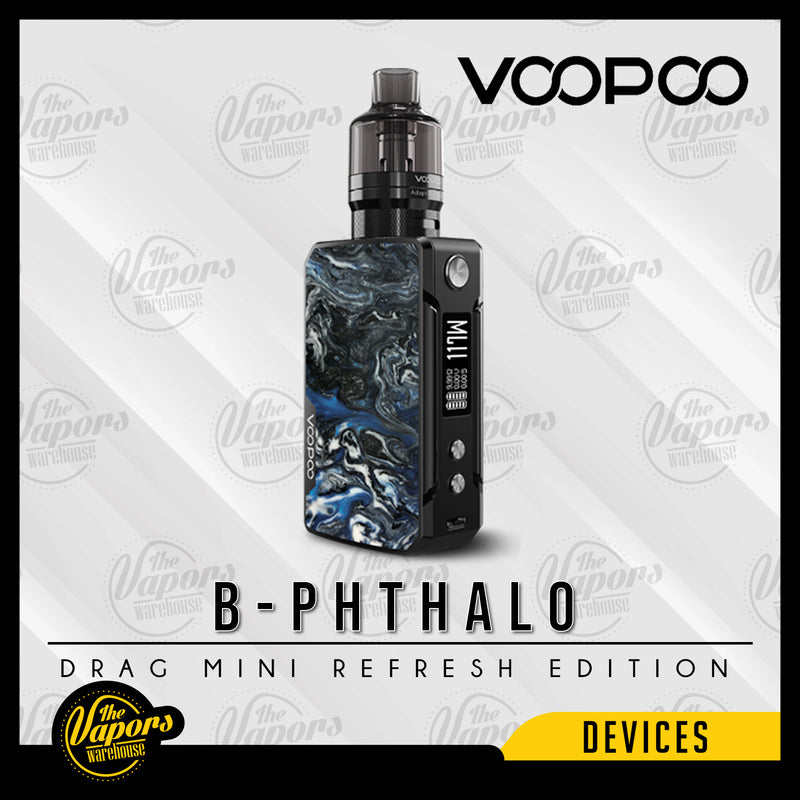 Voopoo Drag Mini Kit Refresh Edition with PnP Pod Tank B-Phthalo