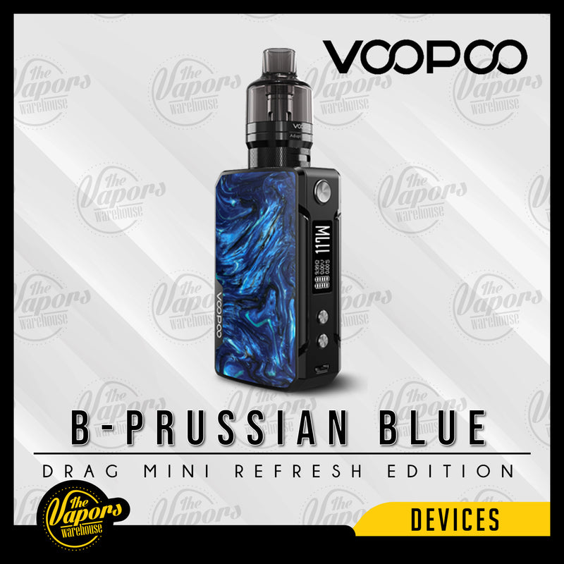 Voopoo Drag Mini Kit Refresh Edition with PnP Pod Tank B-Prussian Blue