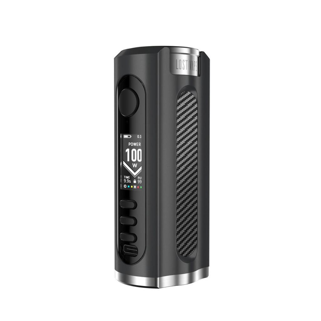 LOST VAPE GRUS 100W BOX MOD Black/Carbon Fiber