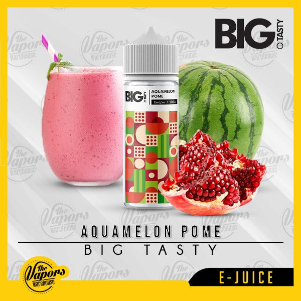 Big Tasty - Aquamelon Pome (120ml) 120ml / 0mg (100ml),120ml / 3mg (120ml)