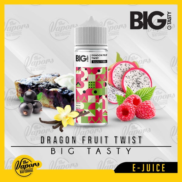 Big Tasty - Dragon Fruit Twist (120ml) 120ml / 0mg (100ml),120ml / 3mg (120ml)