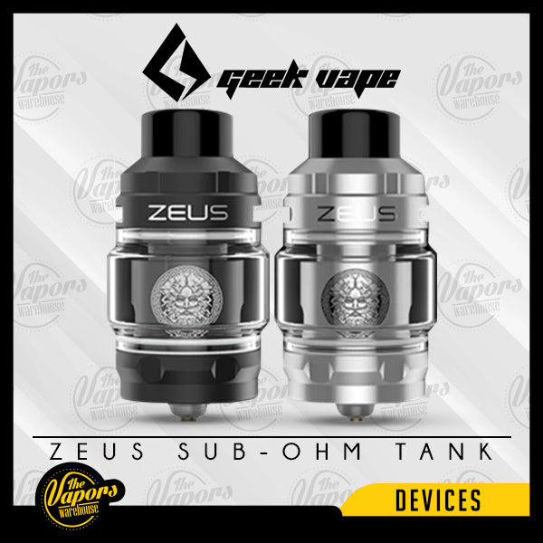 GEEK VAPE ZEUS Z SUB-OHM TANK SS,Black,Blue,Red,Gold