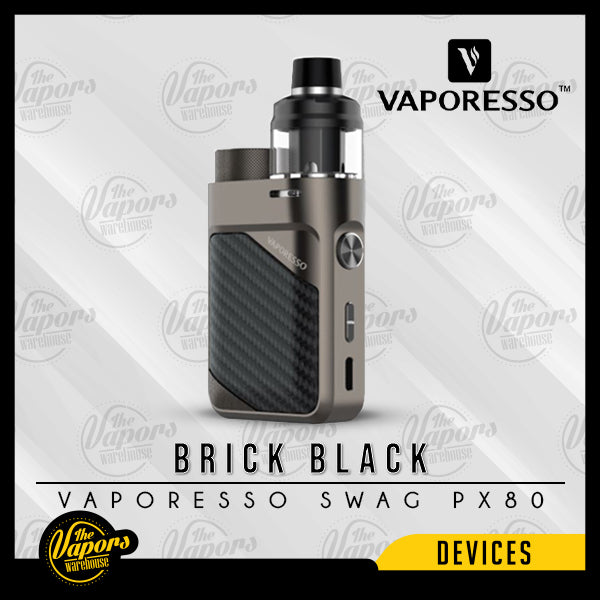 VAPORESSO SWAG PX80 POD MOD KIT Brick Black
