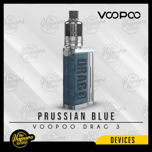VOOPOO DRAG 3 177W STARTER KIT Prussian Blue
