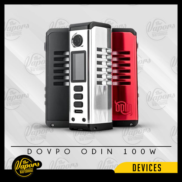 DOVPO ODIN 100W BOX MOD Black,Silver,Gunmetal,Red,Matte Black