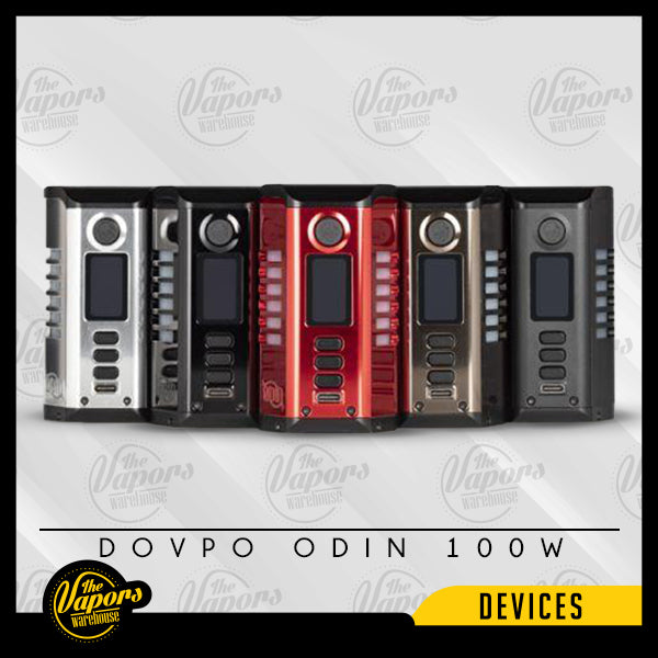 DOVPO ODIN 200W BOX MOD Black,Silver,Gunmetal,Red,Matte Black