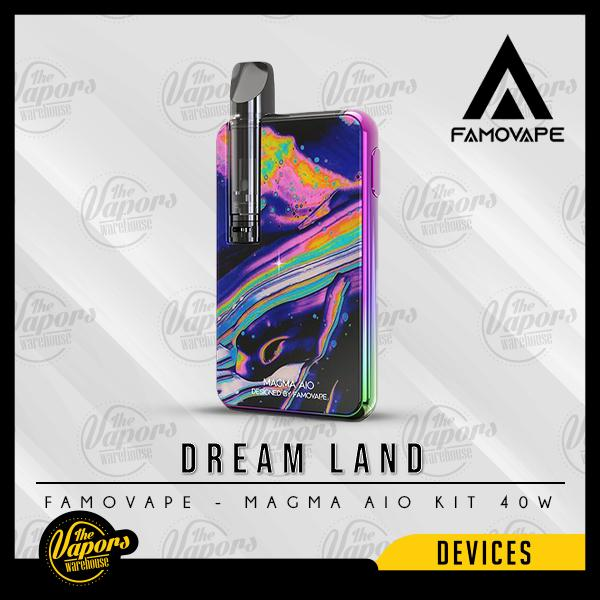 Famovape - MAGMA AIO KIT 40W Dreamland