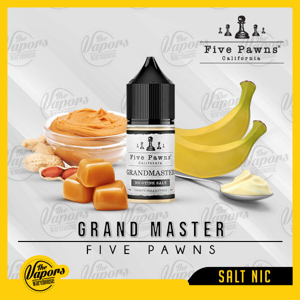 Five Pawns California - Grandmaster (Slatnic) 30ml / 30mg,30ml / 50mg